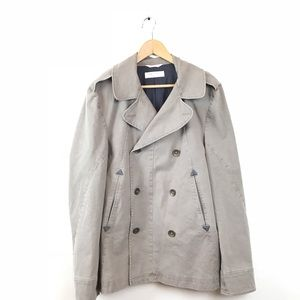 Rag & Bone Coat Jacket Peacoat Cotton Men's 42